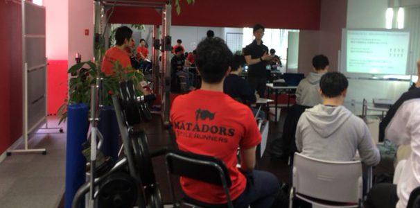 東海スポーツトレーナー研究会の初開催@マタドール・パーソナルトレーニングジム!